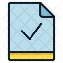 File Check Verify Icon