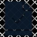 File Check Verify Icon