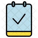 Note Check Verify Icon