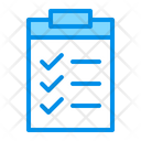 Check Clipboard List Icon