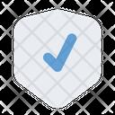 Check Shield Protection Icon