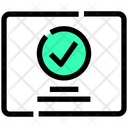 Check Complete Interface Icon