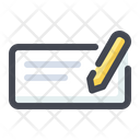 Cheque Check Pay Icon