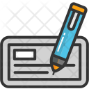 Check Signature Pen Icon