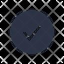 Check Tick Approve Icon