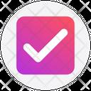 Interface Check Correct Icon