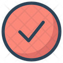 Circle Check Approved Icon