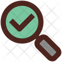 Check Analysis Search Icon
