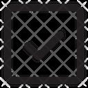 Check Sq Fr Check Tick Icon