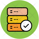 Check Mark Database Icon