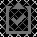 Checked document Icon