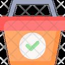 Check Basket Icon