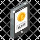Check Bitcoin Balance Mobile Bitcoin Digital Currency Icon