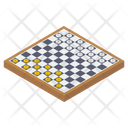 Check Board Board Game Chess Game Icon