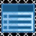 Checkbox List Items List Items Icon