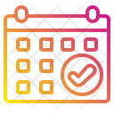 Calendar Time And Date Sales Icon