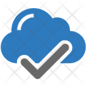 Seo Cloud Checkmark Icon
