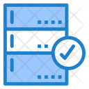Check Database Approved Database Check Server Icon