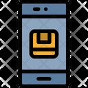 Delivery Check Smartphone Icon