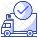 Check Delivery Vehicle Icon
