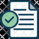 Check Document Check Document Icon