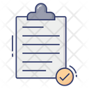 Clipboard List Notes Icon