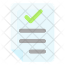 Business Finance Check File Approved File Icon