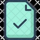 Education File Sheet Icon