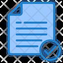 Check File Approve File File Icon