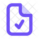 File Support Document Support Support Icon
