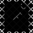 Document Tick Check Mark Icon