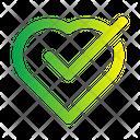 Check Heart Icon