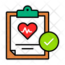 Approve Medical Report Icon