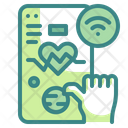 Check Heartbeat Heart Rate Monitor Icon