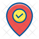 Check In Pin Icon