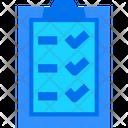 Check List List Skills Icon