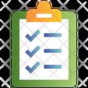 File Clipboard Check List Icon