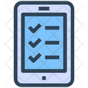 Seo Web Check List Icon