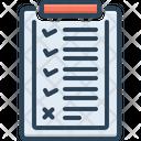 List Catalog Archive Icon