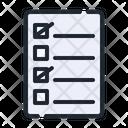 Check List Paper Check Icon