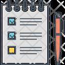 Check List To Do List Work List Icon