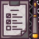 Check Paper Pen Icon