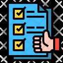 Check List Like Guarantee Icon