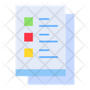 Check List Agreement Documents Icon