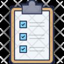 Check List Task List Clipboard Icon