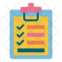 Checklist Check Delivery List Logistics Icon