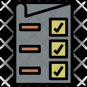 Check List Teamwork Management Icon