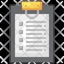 Check List Work Order Document Icon
