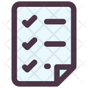 Check List File Icon
