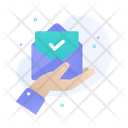 Check Mail Verify Mail Save Mail Icon